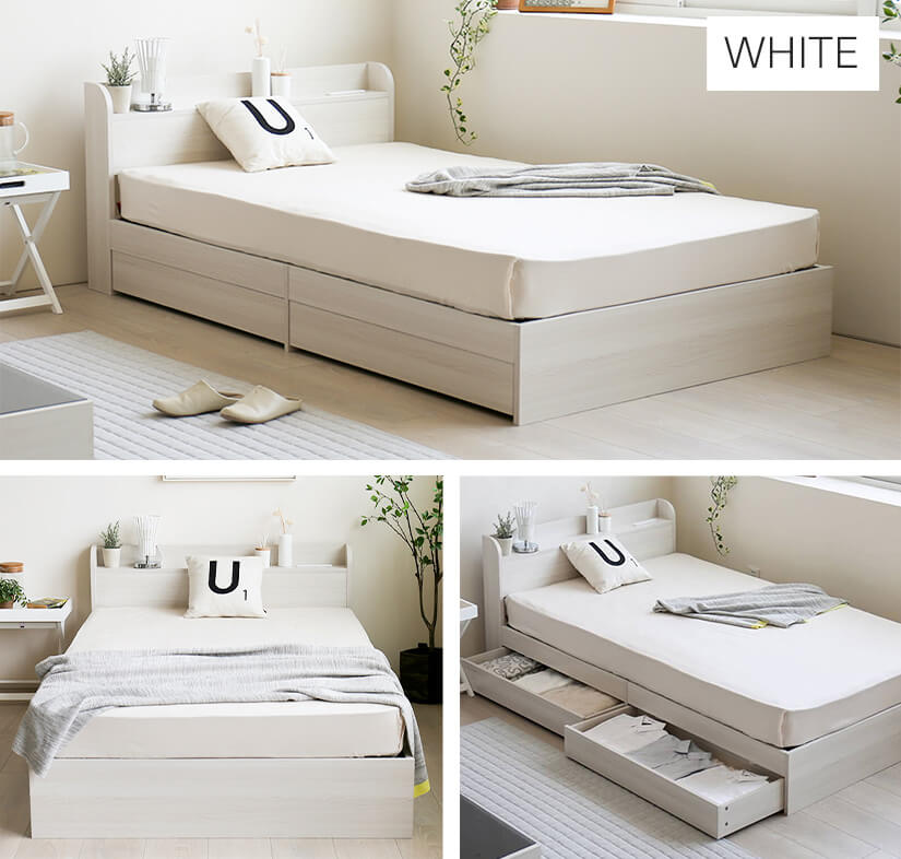 Available in 7 colours: White.