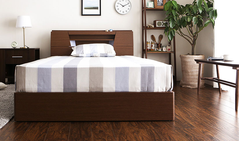 Buy wooden Bed Frames online in Singapore.