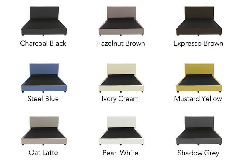 With 9 colours to choose from, you can find the right colour to make your room pop!
