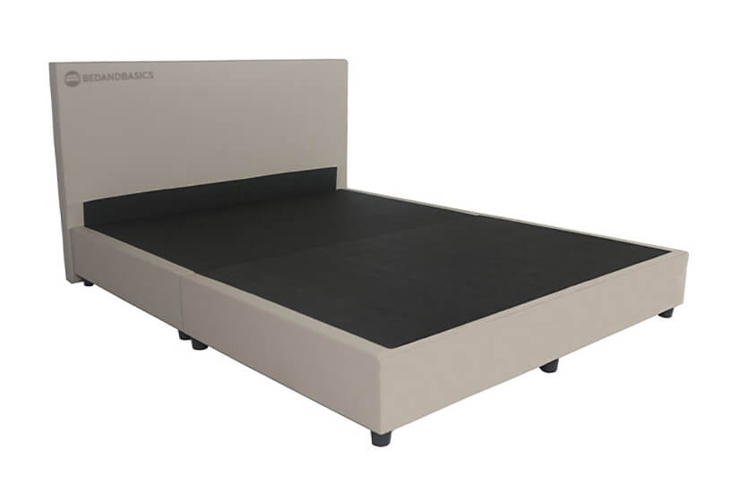 The internal structure of the bedframe is constructed from kiln-dried wood frame.
