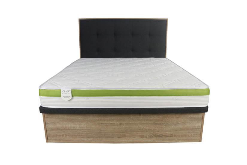 Keitel Queen Size Storage Bed Frame, Queen Size White Bed Frame With Storage