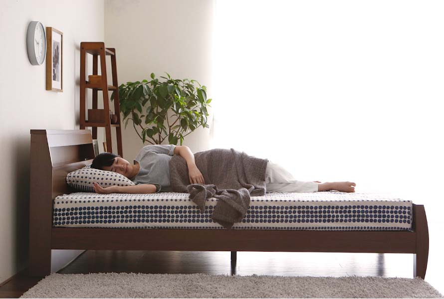 Adjustable bed height. Choose between 4 different heights from low to high