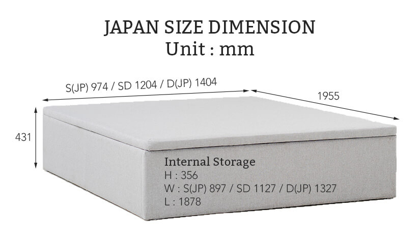 Japan Size Bed Frame Dimensions