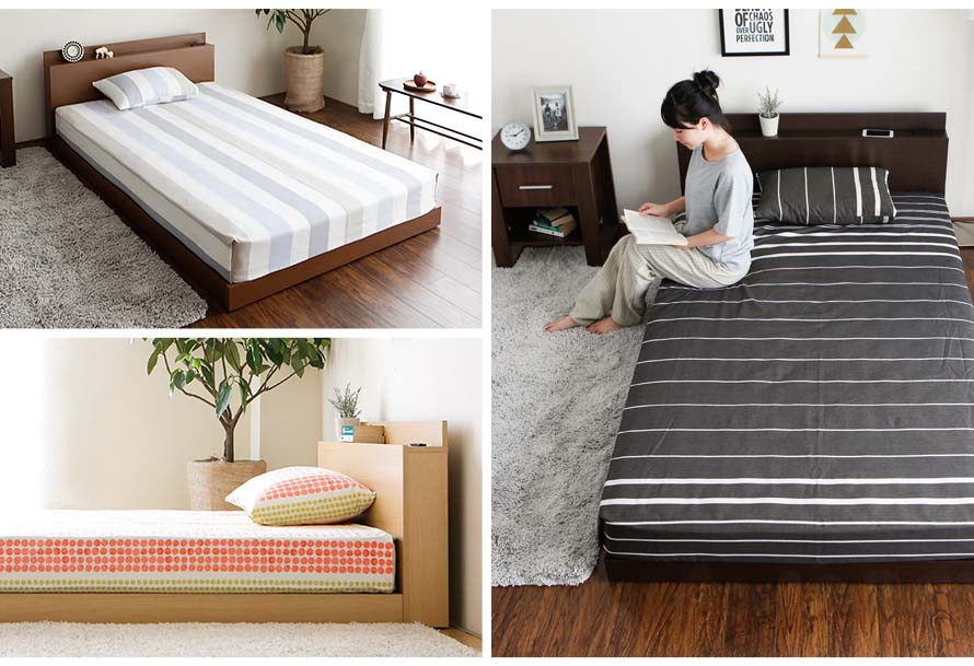The velvet bed comes in 3 colors. Different angles of the bed can be seen here.