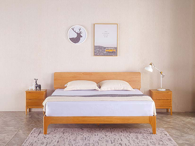 The Nara is designed to be clean, light and natural. It is the perfect bed for the modern minimalist.