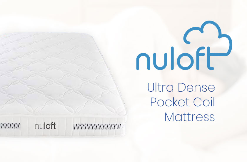 Nuloft Ultra Dense Pocket Coil Mattress 100 Nights Free Trial